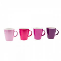 MUG ROUND PURPLE 35 CL