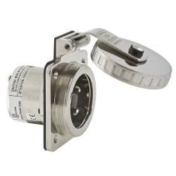 SPINA 2P+T 125/250 v. 50A IP56 IN ACCIAIO INOX