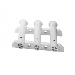 ROD HOLDER WALL MOUNTED 3 RODS